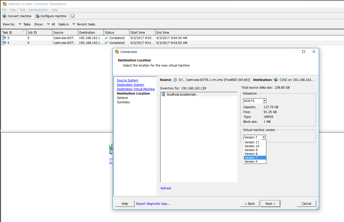 Ovftool Export From Esxi Windows
