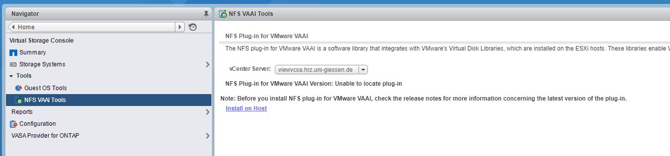 Solved: VSC 7 0: Where to copy the NFS-Plugin - NetApp Community