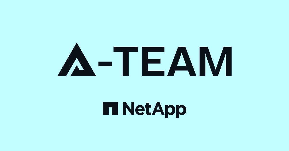 NetApp A-Team