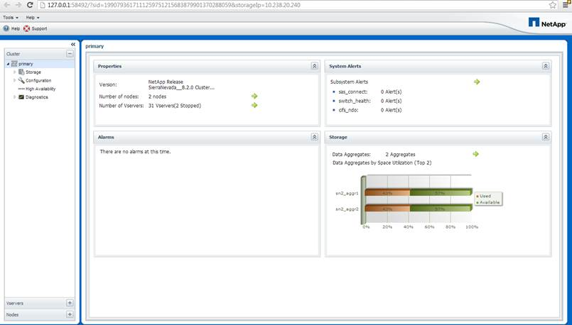 The Latest Release Of Net Oncommand System Manager 3 0 Storage Management Offers Administrators A