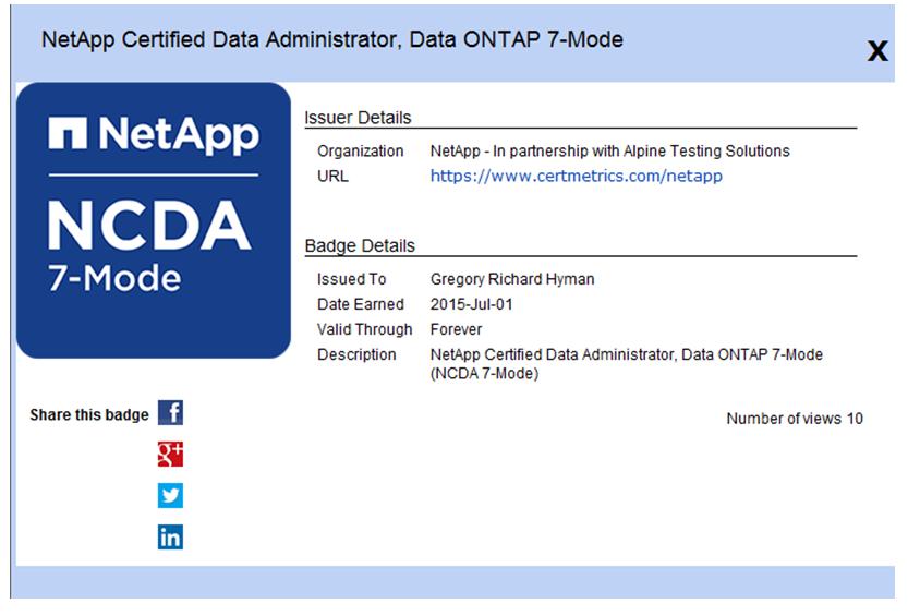 How To Use Netapp Certification Digital Badges Fukiw75442
