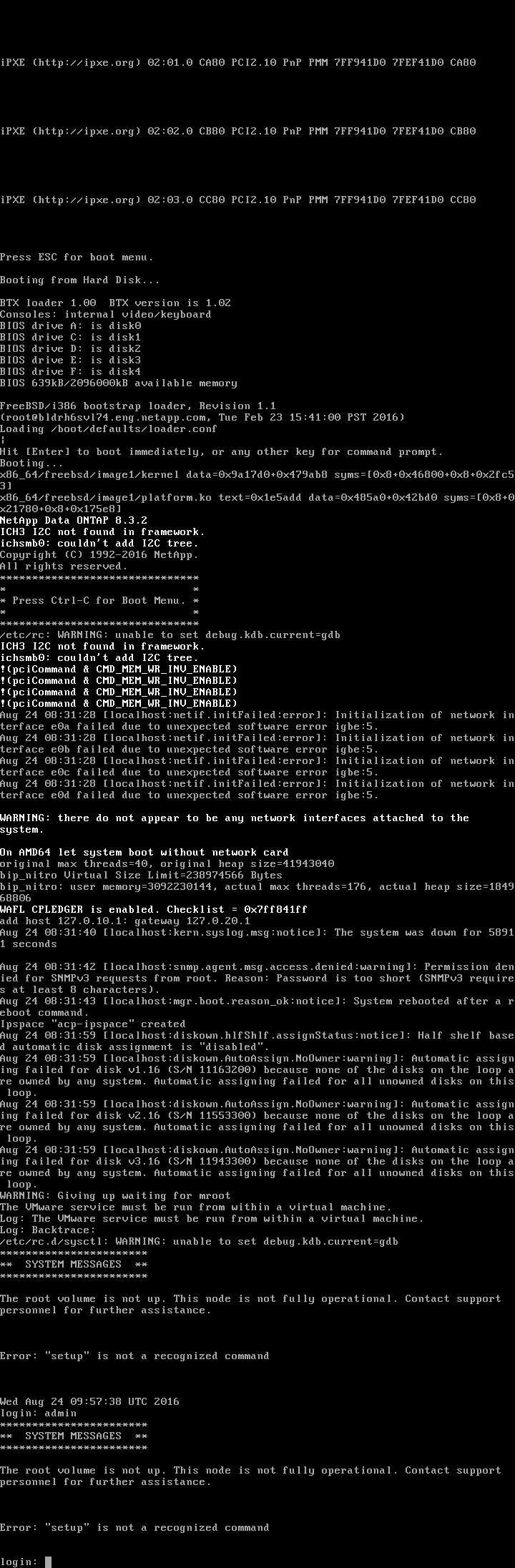 Simulator 8 3 2 - Login Data? - NetApp Community