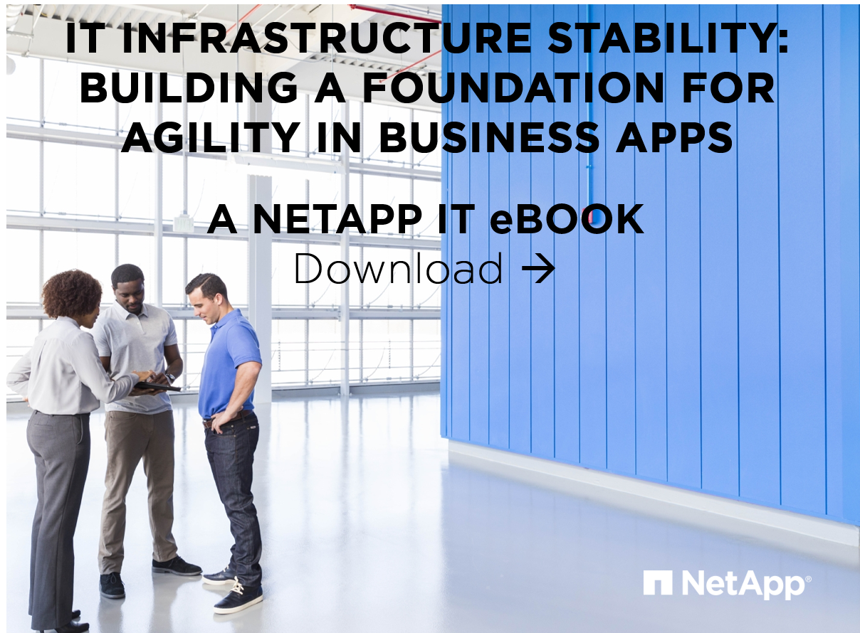 Ebooks netapp community download ebook it infrastructure stability building a foundation for agility in business apps fandeluxe Epub