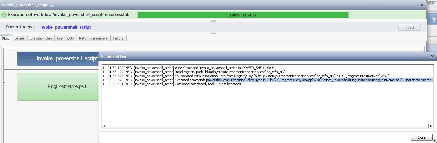 Re: WFA Invoke External PS scripts - NetApp Community