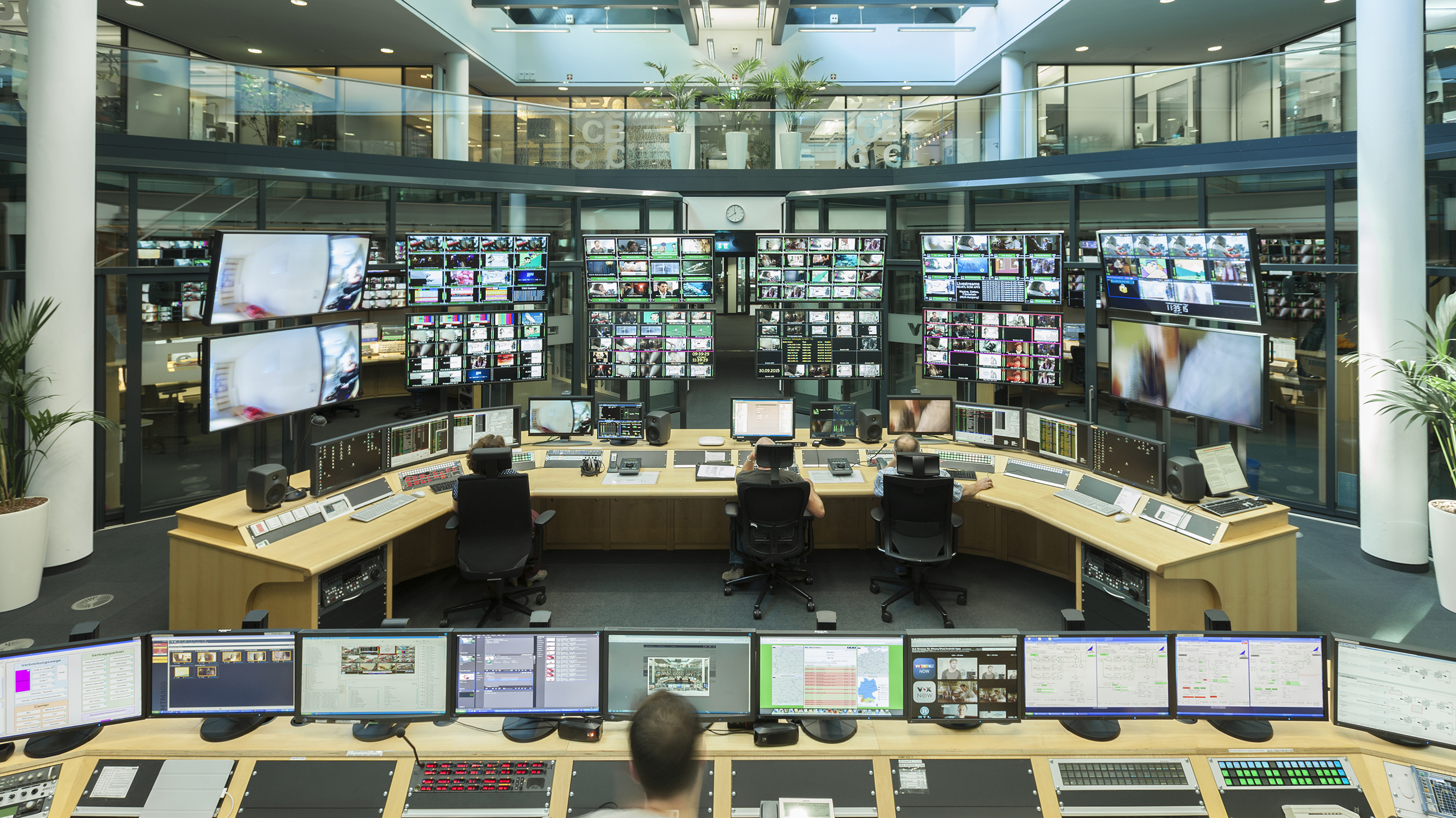 CBC Control Room